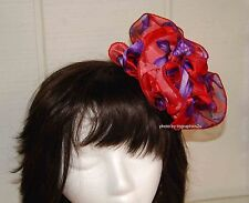 Clip Claw for your Hair or Red Hat / Choose Red ~ Pink ~ Purple