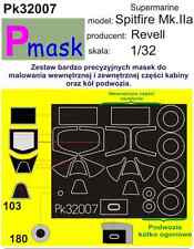 Supermarine spitfire mk. viii/ix peinture masque pour tamiya kit #32007 1/32 pmask