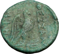 THESSALONICA Macedonia 187BC Ancient Rare Greek Coin ZEUS EAGLE  i22741