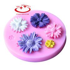 3D DIY Flower Silicone Mold Fondant Cake Decorating Chocolate Sugarcraft Mould