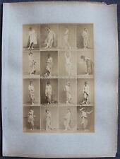 Louis IGOUT Nus Académiques Calavas circa 1875 tirage albuminé 16 Femmes #3