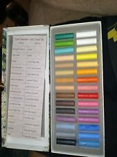 Vintage Derwent Soft Pastels Set 30 Half Lengths 00/C