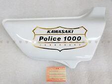 Kawasaki NOS NEW 36007-058-8C Jet White Right Side Cover KZ KZ1000 Police 1978