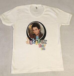New! CLAY AIKEN Jukebox Tour 2005 Babydoll T -  Shirt - Ladies Large