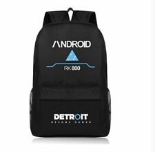 Detroit: Become Human Connor RK800 Backpack Schoolbag laptop bag Travel bag