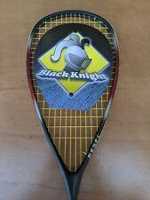 Black Knight Squash Racket Titanium Bk-5140 carbon nos new