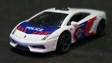 MATCHBOX LAMBORGHINI GALLARDO LP 560-4 POLICE WHITE LOOSE