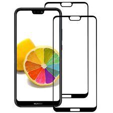 2x Hartglas für Huawei P20 LITE Displayschutzfolie 9H-Schutzpanzer Glasfolie