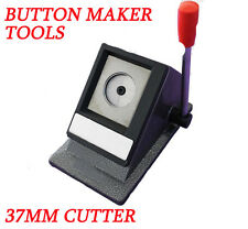 """Child 1-1/2"""" 37mm Multi Sheets Stack Paper Graphic Punch Die Round Cutter Diy"""