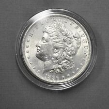 1896 Morgan One Dollar Silver Coin,  7TF