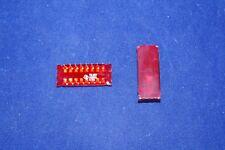 1x TIL307 TIL-307 TI 7-segment Hybrid Numeric LED Display+Logic ~TIL306 GOLD