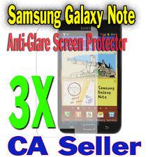 3X Anti-Glare Screen Protector Samsung Galaxy Note i9220 N7000