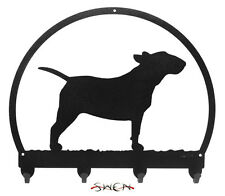 Bull Terrier Metal Key or Leash Hanger *New*