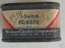 1942-51 Oldsmobile Vintage Boxed Wagner Brake Switch