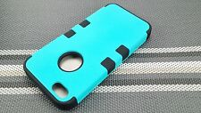 For Apple iPhone 5 5S Hybrid Dual Layer Hard Silicone Case Cover