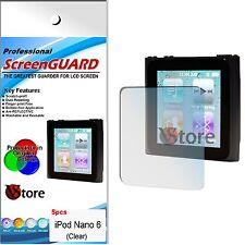5 Unidades PELÍCULA PROTECTOR DE PANTALLA LCD PARA APPLE IPOD NANO 6 6G