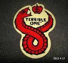 1 authentiques TERRIBLE ONE BMX Cadre Vélo Autocollant/Autocollant/T1 #16 aufkleber