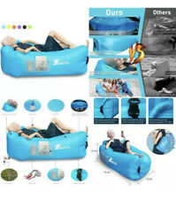 Segoal Inflatable Lounger Air Sofa Couch with Pillow, Portable Waterproof