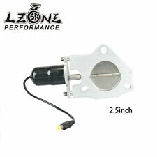 2.5 inch Universal Exhaust Cutout Billet Butterfly valve +High Motor