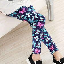 Infantil Bebé Leggings Floral Pantalones Escuela Casual Largos Ropa