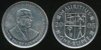 Mauritius, Republic, 2005 Rupee - almost Uncirculated