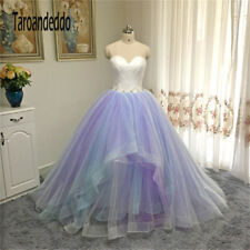 Hot New Multi Color Skirt Ball Gowns Wedding Dress Puffy Royal Bridal Gowns
