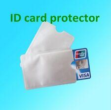4 custodia protezione anti-clonazione RFID carta credito bancomat contactless