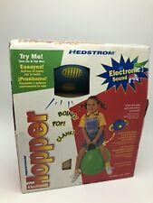 Hedstrom Electronic Hopper Ball Sound Hop Red