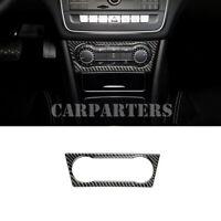 For Benz A Class W176 Carbon Fiber Air Condition Button Frame Cover 2013 -2018