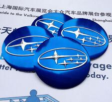 "4x 56mm 2.2"" Car Refitting Wheel Center Hub Cap Emblem Badge Decal Sticker for"