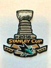 San Jose Sharks Stanley Cup NHL Jersey Patch SAP Center Iron On Sew On Jacket