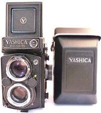 Yashica Mat-124G Reflex Bi-Objectif Film Caméra avec Yashinon 80 mm F3.5 Lentille Inc case.