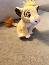 Simba Cub Lion King Soft Toy from Disney store 6 Sitting VGC