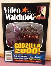 VIDEO WATCHDOG magazine 2001 Toho erotica Japan Godzilla Exorcist