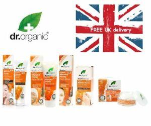 Dr.Organic Bioactiv Skincare Manuka Honey Face,Body And Foot Care Brand New Seal