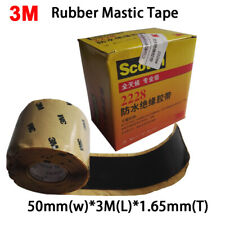 3M 2228# Rubber Mastic Tape, Electrical Insulation Tape 50mmx3Mx1.65mm