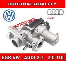 VALVOLA EGR RICIRCOLO GAS SCARICO AUDI VW A4 A5 Q7 2.7 3.0 TDI TOUAREG