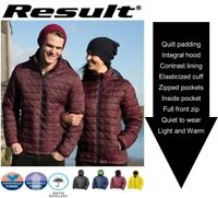 Mens Blizzard QUILTED Lined Insulated Warm JACKET COAT Sizes XS S M L XL 2XL 3XL
