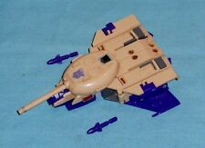 original G1 Transformers BLITZWING WITH TANK TURRET & 2 MISSILES