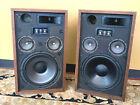 Atlantis 5A Vintage Speakers 12-inch Three-Way Walnut Cabinets - Audiophile HiFi