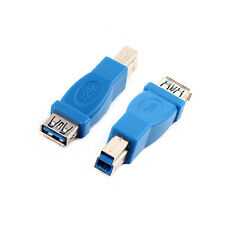 Standard USB 3.0 Type A Female to 3.0 Type B Male Conector Converter Adapter
