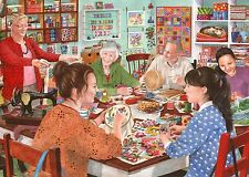 """The house of puzzles """"crafty corner"""" 1000pc jigsaw le Castleford collection"""