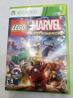 LEGO Marvel Super Heroes (Microsoft Xbox 360, 2013) FREE FAST SHIPPING