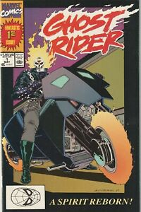 Ghost Rider # 1 NM- Marvel 1990 1st Appearance Of Danny Ketch