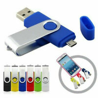2TB 256GB OTG Giratorio USB 2.0 Flash Drive Memoria Stick Pluma Disco Pulgar PC