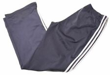 ADIDAS Womens Tracksuit Trousers UK 12 Medium Grey Polyester  GK09