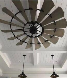 "Quorum 72"" Windmill Indoor Ceiling Fan; MAKE AN OFFER!!"