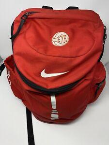 Nike Elite EYBL Backpack 2.0 Red White Air Rare Sneaker Circuit ULTRA MJ LeBron