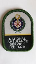 National Ambulance Service Ireland NASI 3 Inch Vel Hook Patch Badge NI