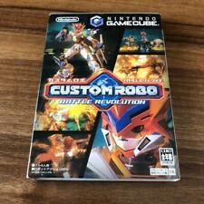 Nintendo Gamecube Custom Robo Battle Revolution from Japan
